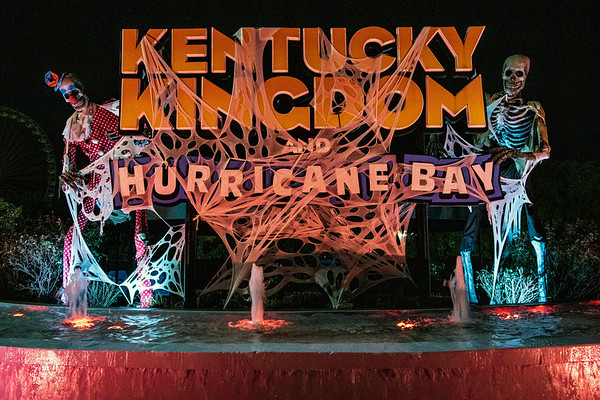 Kentucky Kingdom is keeping the lights on late in October with seasonal spooky themes at its HalloScream Kingdom of Fear nights. 10/12/19