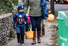 Despite the winter like weather on Thursday night, the spirit of Halloween thrived along Hillcrest Avenue for the costumed residents and hundreds of trick-or-treaters. 10/31/19