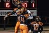 Fern Creek running back Anthony Teague scored in the first half against Bullitt East on Friday night. 11/8/19