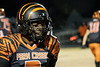 Fern Creek High's D'Mauri Owens flashed a smile after scoring a touchdown against Bullitt East on the opening kickoff Friday night. 11/8/19