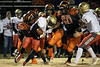 Fern Creek's defense held Bullitt East to low yardage in the first half of their playoff game on Friday night. 11/8/19