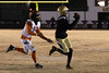 Male sophomore Vinny Anthony had eight catches for 163 yards against Fern Creek in a 6A playoff game on Friday night. 11/15/19