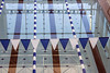 Half of the overall pool space at the West Broadway YMCA is dedicated to lap swimming. 12/4/19
