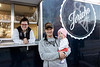 Curtis and Carilynn Coombs, along with daughter Nora Beth, operate the Jericho Farmhouse food truck. The Coombs family are Henry County dairy farmers that now face a future that no longer includes Dean's Foods as a customer. 12/7/19