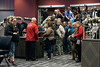 Crowds waited to enter the new land based casino at Caesars Southern Indiana on Thursday. 12/12/19