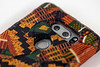 A phone case is one of the Kwanzaa inspired items created by artist Christian Butler. 12/17/19