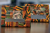 Picture frames with a Kwanzaa pattern were created by local artist Christian Butler. 12/17/19