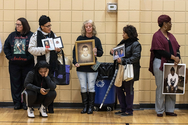 The families of some of Louisville's recent murder victims gathered in the gym at the Chestnut Street YMCA on Sunday afternoon to share stories and reflect on the tragedies of the past decade. The decade of 2010-2019 became statistically the most violent in the history of the city in terms of homicides. 12/29/19