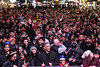 An enormous crowd began to swell around the edges of the stage at Fourth Street Live on Tuesday night as midnight neared on New Years Eve. 12/31/19