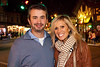 Patrick and Meredith Klapheke take in the atmosphere at the corner of Bonneycastle and Bardstown Road.