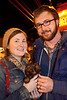 Chris and Ericha Winters were showing Maeby the Puppy a good time.