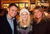 Shawn Wiseman, Kristan Kelleher, and Elle Fuller were all smiles.