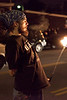 What would a local event be without the presence of fiery troupe Phoenix Collective; even on a 20-degree night. (Photo by Marty Pearl)