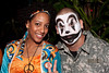 Ramona Sanders and Michael Vasta proved that hippies and juggalos can co-exist. (Photo by Marty Pearl)