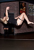 Jacqui Melillo shows that she can execute a back flip as good as the rest. (Photo by Marty Pearl)