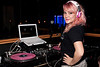 NYC-based DJ Roxy Cottontail was on hand to provide the soundtrack to Ellen Hagans' birthday celebration. (Photo by Marty Pearl)