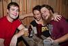 Erich Romm, Erynn S., & Jeremy Bledsoe find a quiet spot to enjoy some laughs.
