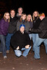 """The """"group from St. Matthews"""" were in festive form as they arrived at Nightmare Forest. (Photo by Marty Pearl)"""