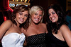 Birthday girl Whitney Davis (in white) celebrates with friends Jessica Young and Abi Weixler. (Photo by Marty Pearl)