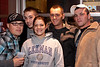 """Collectively known as """"the Famous"""": Shawn, Jason, Samantha, Zim, and Joe enjoy the night. (Photo by Marty Pearl)"""
