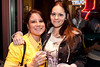 Chrissy Smith and Nicole Dancy were out on the town. (Photo by Marty Pearl)