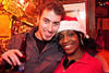 Selina Marlow and Dustin Swaggert came to party at the Christmas Eve-Eve at Phoenix Hill Tavern on Friday night.