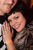 Lindsey Noble shows off her engagement ring.