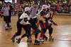 Random action from the Derby City Roller Girls at Champ's on LaGrange Road.