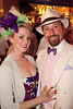 Brian and Amanda Bayers came dressed in style for the Derby Night Party at Fourth Street Live.