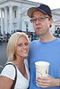 Kallie Wilbert and Tom Lynch take in the sights and sounds of the Reggae Fest.