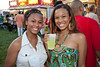 Christean and Lilly Tayor were a couple of the pretty faces in the crowd at the Annual Kentucky Reggae Festival at The Louisville Water Tower.