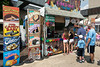 The frozen foods and icy treats were the popular destinations among the attendees battling hot weather on the last day of the Fair.