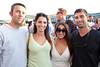 "Frank Schmidtt, Kat Cruise, Brittany Kittle, and Steven Terry were having ""alot of fun."""