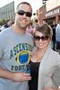 Chad Ray and Ashley Pickett enjoy the photo opp.