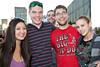Sandra Boston, Matthew Moellering, Dave Buschmann, Josh Hesky, and Tara Lowell know how to party.