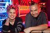Khryss Beam and Rick Barcenas man the bar in style.