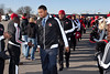 The Cards March is always a highlight of tailgating as fans take the opportunity to greet the team up close and personal.
