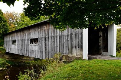 South Denmark Road Bridge - Ashtabula Covered Bridges