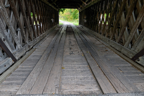 South Denmark Road Bridge - Ashtabula Covered Bridges