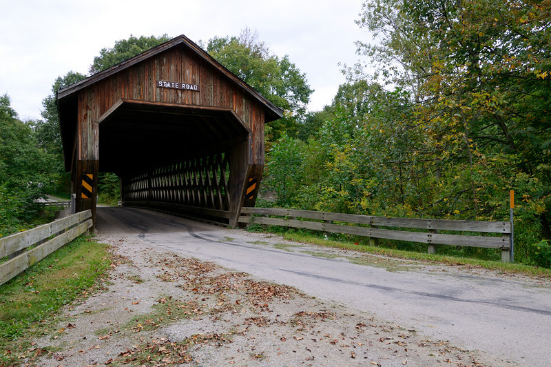 State Road Bridge - Astabula Covered Bridges