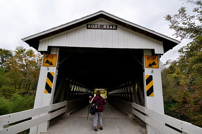Root Road Bridge - Astabula Covered Bridges