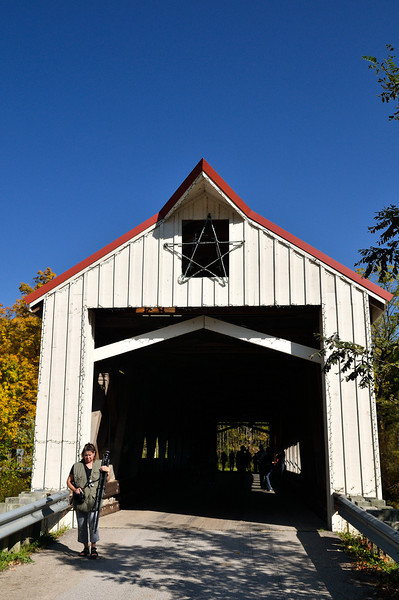 Mechanicsville  Covered Bridge