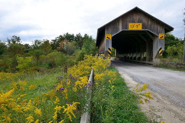 Caine Road Bridge - Ashtabula Covered Bridges