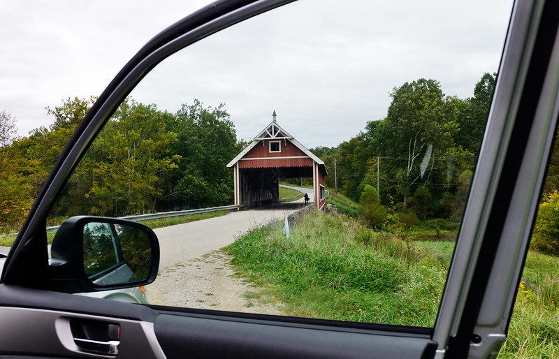 Netcher Road Bridge - Ashtabula Covered Bridges