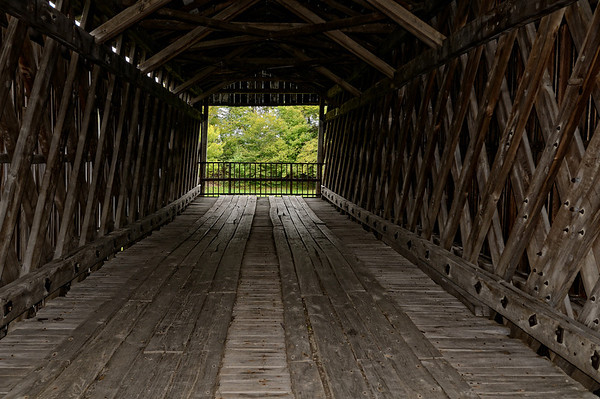 Graham Road Bridge - Ashtabula Covered Bridges