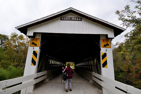 Root Road Bridge - Astabula Covered Bridges