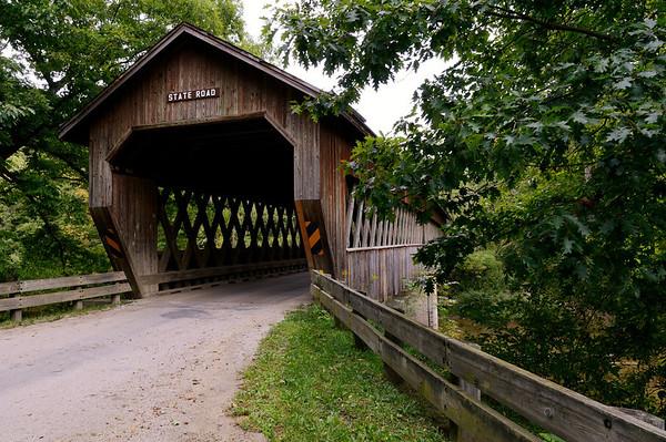 State Road Bridge - Astabula Covered Bridges