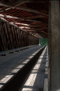 Harpersfield Road Bridge Interior