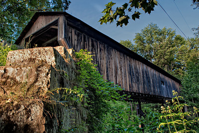 Rock Creek Road Covered Bridge