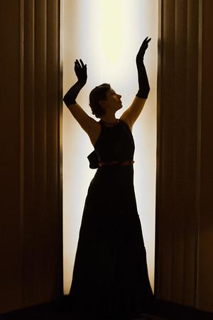 The elegant Sarai Coutin at the Paramount Theater, Oakland, CA
